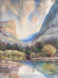 Gail Yosemite painting